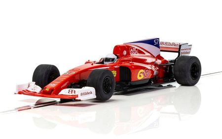 SCALEXTRIC 3958 FORMULA ONE CAR RED STALLION