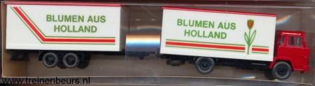 """WIKING 426 Vrachtauto met trailer """"Blumen aus Holland"""""""