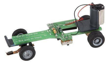 FALLER 163703 CAR SYSTEM CHASSIS KIT BUS, VRACHTWAGEN