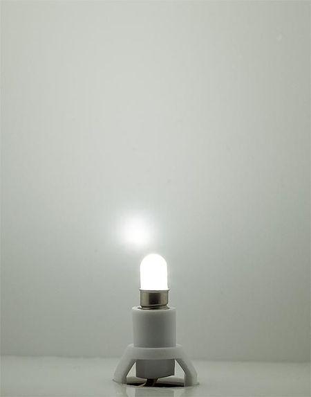 FALLER 180661 FITTING MET LED LAMP, KOUD WIT