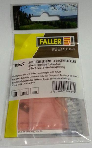 FALLER 180697 MINI-LICHTEFFECTEN TELEVISIE-FLAKKEREN
