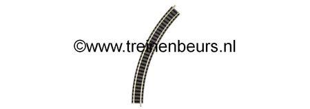 Fleischmann 9120 RAIL GEBOGEN R1 45 graden NIEUW