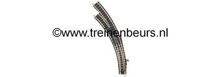 Fleischmann 9174 WISSEL LINKS GEBOGEN 9142 L NIEUW