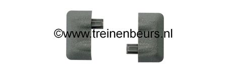 RO 61180 ROCO Geoline met bedding H0 Bedding eindstuk per 6 NIEUW