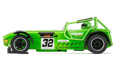 SCALEXTRIC 3871 CATERHAM SUPERLIGHT R300-S CHAMPIONSHIP L. WIGGINS