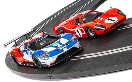 SCALEXTRIC 3893A 50 YEARS OF FORD AT LE MANS [NEW TOOLING 2018] L.D.