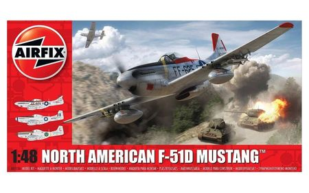 AF 05136 NORTH AMERICAN F51D MUSTANG 1/48 (7/18) *