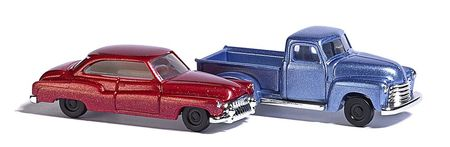 BUSCH 8349 CHEVY PICK UP & BUICK N NIEUW