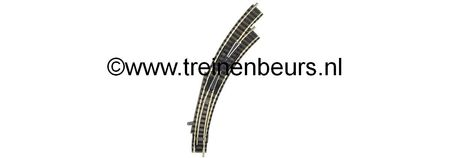 Fleischmann 9175 WISSEL RECHTS GEBOGEN 9142 R NIEUW
