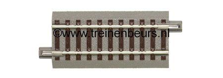 RO 61112 ROCO Geoline met bedding H0 Recht 76mm met bedding NIEUW
