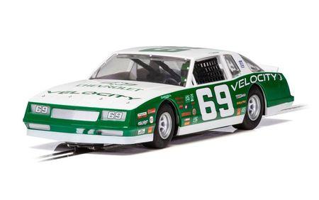 SCALEXTRIC 3947 CHEVROLET MONTE CARLO 1986 NO.69 GREEN & WHITE
