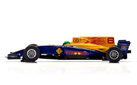 SCALEXTRIC 3960 FORMULA ONE CAR BLUE WINGS