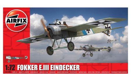 AF 01087 FOKKER E. III EINDECKER 1:72 (1/18) *