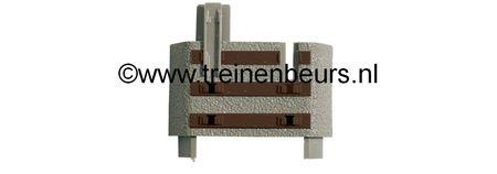 RO 61183 ROCO Geoline met bedding H0 Set dwarsliggers NIEUW