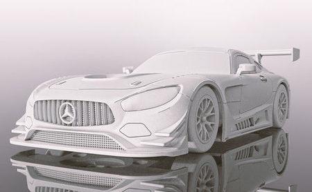 SCALEXTRIC 4044 MERCEDES AMG GT3 P1 MOTORSPORTS DAYTONA 2018 (7/19) *