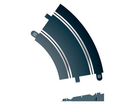 SCALEXTRIC 8296 BANKED CURVE R2 45°