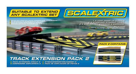SCALEXTRIC 8511 TRACK EXTENSION PACK 2 LEAP & CHICANE