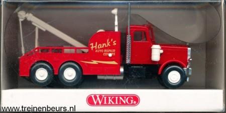 WIKING 631-01 27 USA Truck Hank's Auto Repair Center