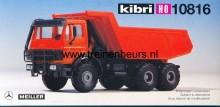 KIBRI 10816 U Mercedes kiepwagen