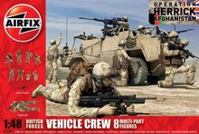 AF 03702 BRITISH VEHICLE CREW S3 1:48 **