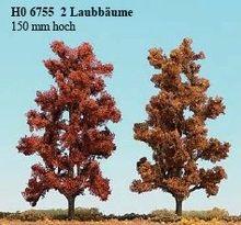 BUSCH 6755 2 LAUBBÄUME 150 MM, HERBSTROT NIEUW