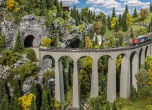 FALLER 222596 VIADUCT-SET LANDWASSER