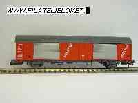 Roco 46275 Electrorail Gesloten PTT post rood met grijze voor- en achterkant NIEUW uitloop