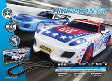 SCALEXTRIC 1361 SET AMERICAN GT