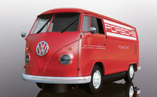 SCALEXTRIC 3755 VOLKWAGEN PANEL VAN RED (1/19) *