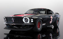 SCALEXTRIC 4014 FORD MUSTANG TRANS AM 1972 JOHN GIMBEL (1/19) *