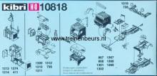 KIBRI 10818 U Onderdelen vor vraxchtauto's