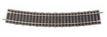 Fleischmann 6138-G RAIL GEBOGEN 18 GRADEN goed gebruikt