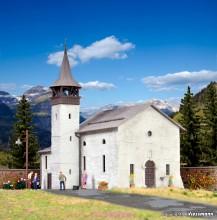 KIBRI 38813 H0 Antoniuskapelle Saas-Grund