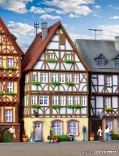 KIBRI 38903 H0 Fachwerkhaus am Markt in M