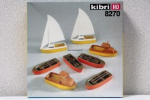 KIBRI 8270 Zeilbootjes Uitloop
