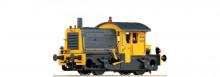 Roco 62958 NS Diesel serie 200/300 Sik nr. 264 geel/grijs met laadkraan NS NIEUW uitloop