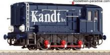 """Roco 69956 Kandt Diesel Serie 500/600Hippel """"Kandt"""" WISSELSTROOM NIEUW uitloop"""