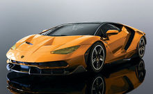 SCALEXTRIC 4066 LAMBORGHINI CENTENARIO ORANGE (10/19) *