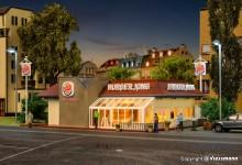 VO 43632 H0 Burger King-Schnellrestaur
