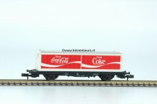 FL 8243-G Container Containerwagon 2x 20ft Coca Cola gebruikt goede staat