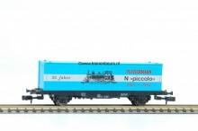 FL 8815 Container Containerwagon 40´´ container Fleischmann 25 Jahre Piccolo NIEUW uitloop