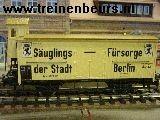 Ma 4781 u Goederenwagens SäuglingsFürsorge BerlinMet remmershuis Sauglingfursorge