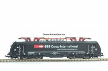 PIKO 57959 E-lok serie 189 zwart MRCE/SBB NIEUW uitloop