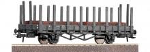 Roco 66358 NS Rongen grijs met lading staalmaten NIEUW uitloop