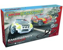 SCALEXTRIC 1132 MICRO SCALEXTRIC EMERGENCY PURSUIT MAINS POWERED