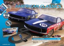 SCALEXTRIC 1362 ARC ONE AMERICAN CL. CHEVROLET CAMARO V FORD MUSTANG