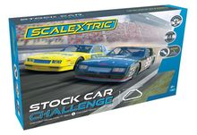 SCALEXTRIC 1383 STOCK CAR CHALLENGE 2 X CHEVY MONTE CARLO'S