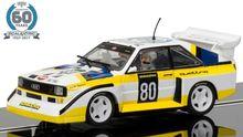 SCALEXTRIC 3828A ANNIV. COL. CAR CAR NO.4 - 1980S