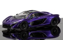 SCALEXTRIC 3842 MCLAREN P1 PURPLE
