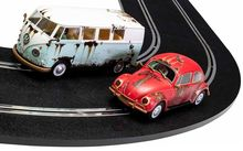 SCALEXTRIC 3966A VW BEETLE AND CAMPER VAN – WEST COAST RAT LOOK L.D.